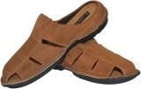 Human Steps Men Olive Sandals