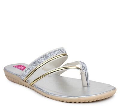Geetika Women Silver Flats
