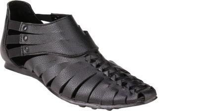 Imparadise Men Black Sandals
