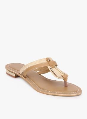 Addons Women Beige Flats