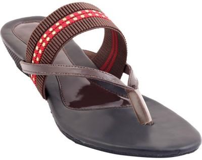 GLAMWALK Women Brown Flats