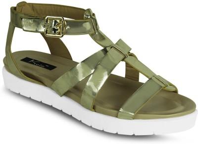 Kielz Women Gold Flats