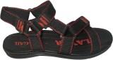 Pu-Gail Men Red Sandals
