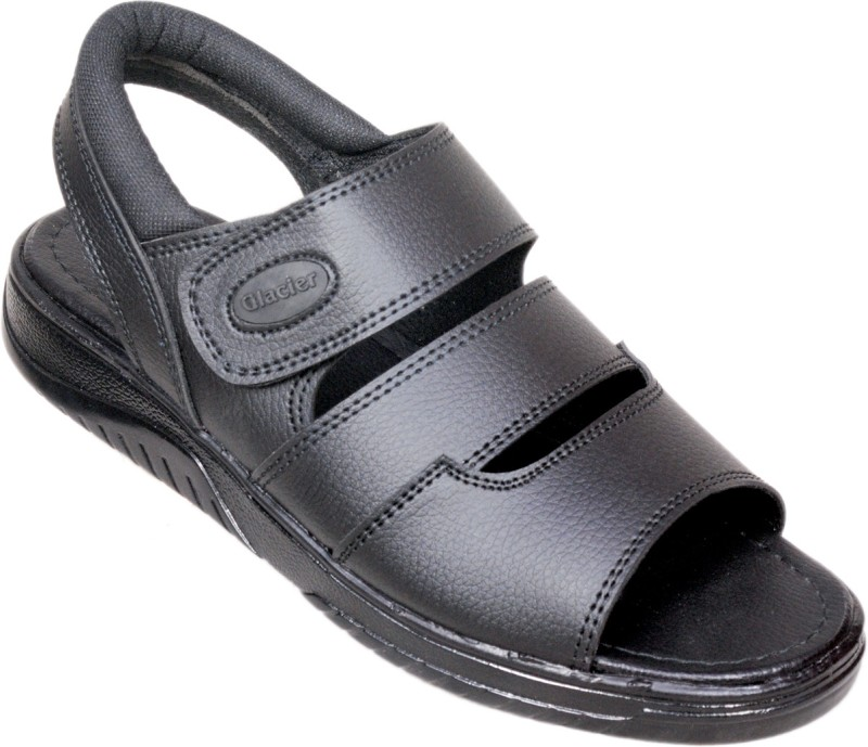 Glacier Efficacy Men Black Sandals