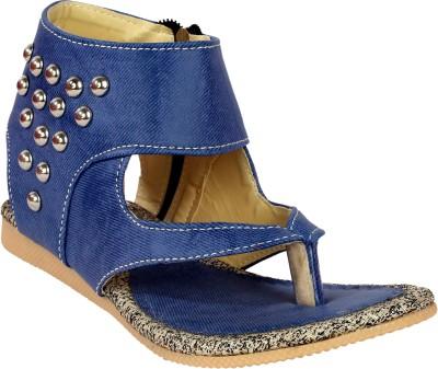 Remson India Women Blue Flats