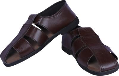 Panlin Black Colorway Men Brown Sandals
