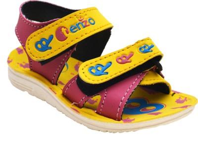 Steelwood Boys Yellow Sandals