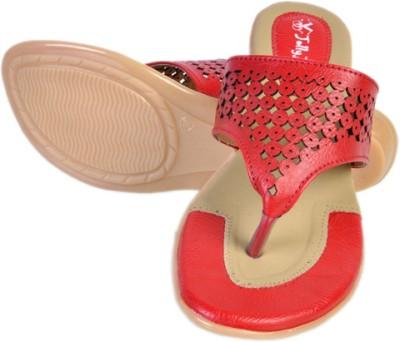 Jolly Jolla Isabelle Women Red Flats