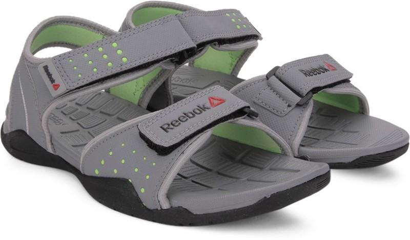 Reebok Women GREY/LIME/MET SIL/BLK Sports Sandals