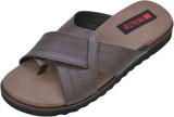 Health Line Men Brown Sandals