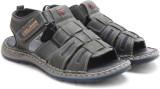 Lee Cooper Men BLACK Sports Sandals