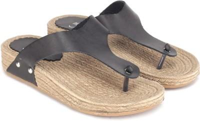 My Foot Women Black Flats