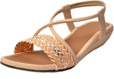 crayon&collection Girls Beige Sandals