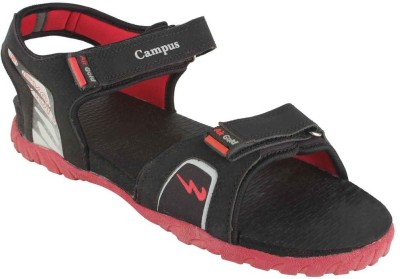 Action Campus Men Black, Red Sandals