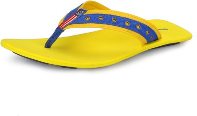 Nawaabs 3811 Men Blue, Yellow Flats