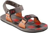 Stylos Men Grey Sandals