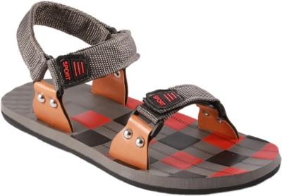 Stylos Men Grey Sandals