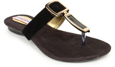 Stylistry Women Black Flats