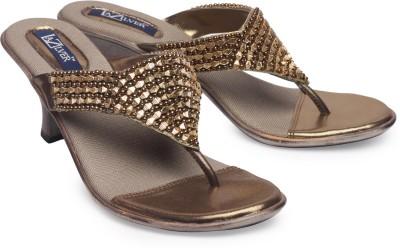 La Zilver Girls Brown Heels