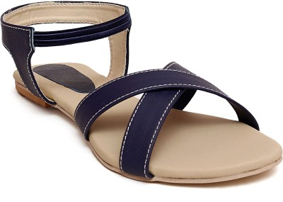 Zohra Collection Women Blue Flats