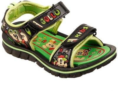Hot Dog Baby Girls, Baby Boys Green Sandals