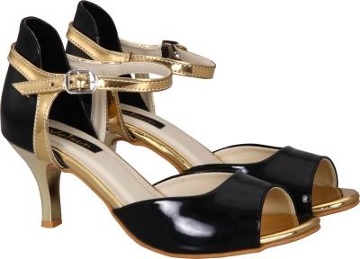 Welson Women Black Heels