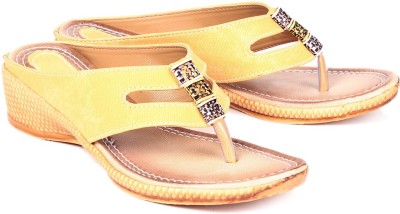 Royal Women Yellow Flats