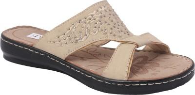 Pantof Women Beige Flats