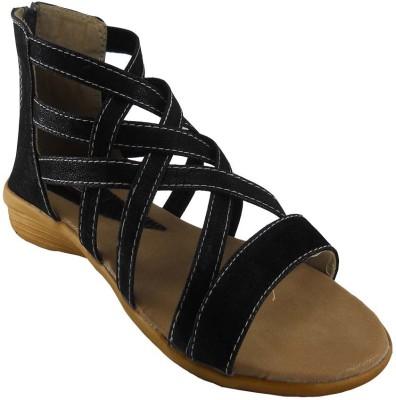 B3trendz Women Black, Tan Flats