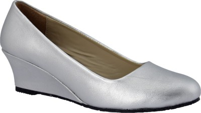 Party Girl Women Silver Wedges
