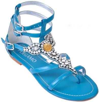 Foonty Women Blue Flats