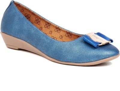 Lovely Chick Women Blue Wedges