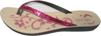 Pu-Gail Women Pink Flats