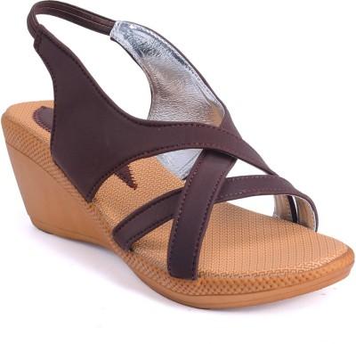 Versiliana Women Brown Wedges