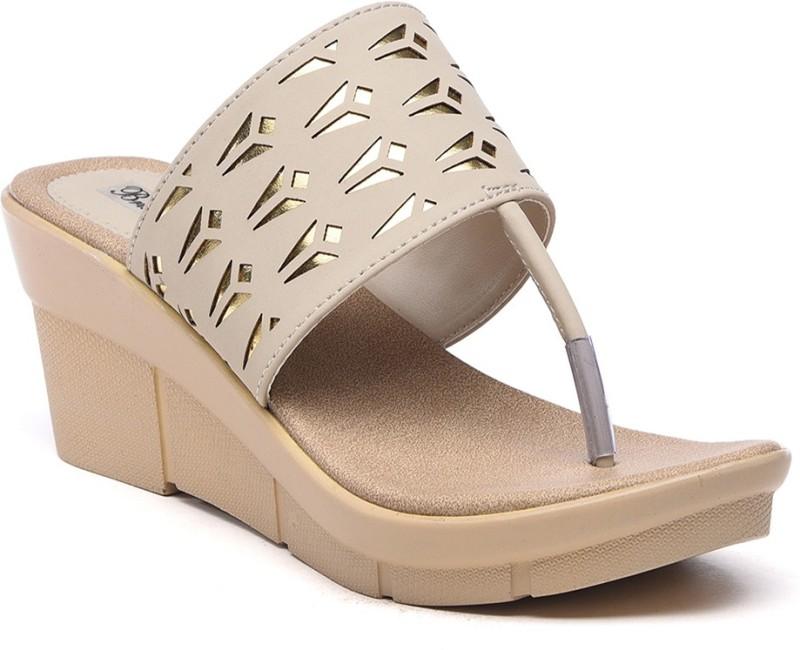 Bruno Manetti Women Beige Sandals