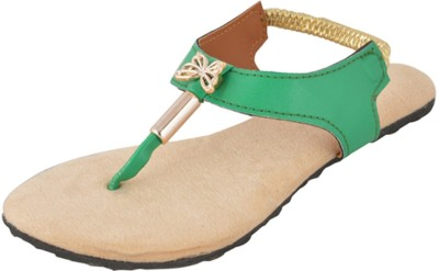 Chichi Women Green Flats