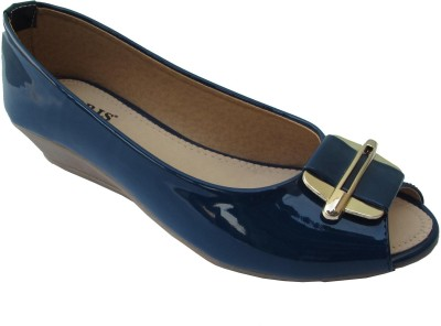 LORIS Women Blue Heels