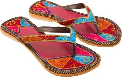 Vinayak Collection Women Blue Flats