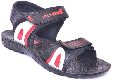 MDI Boys Black Sandals