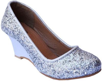 MadeinMyIndia Women Silver Heels