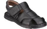 Menz Men Black Sandals