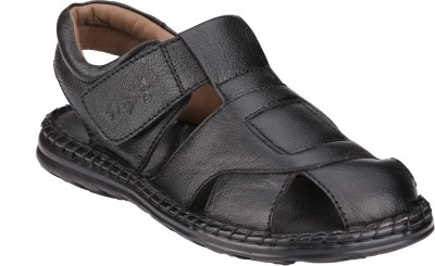 Menz WP-05 Men Black Sandals
