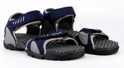 Sparx Men Grey, Navy Sports Sandals