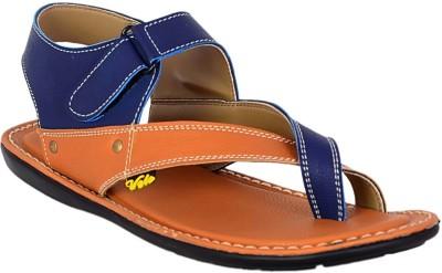 Volo Men Tan, Blue Sandals