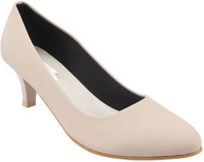 Allinyou Women Beige Heels