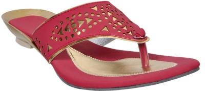 Fescon Women Maroon Sandals