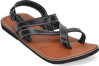 Paduki Men Black Sandals at flipkart