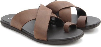Clarks Valor Shade Dark Brown Lea Men Brown Sandals