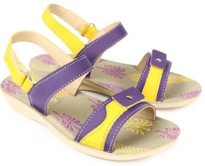 Liberty Girls Purple Sandals