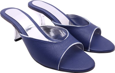 Royal Collection Women Blue Heels